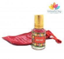 Духи масляные Роза, Индийский секрет, 5 мл