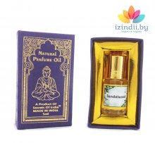 Духи масляные Сандал в подарочной коробка, Индийский секрет, 5 мл