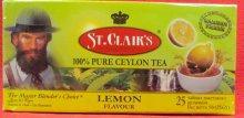 """Черный чай """"Лимон"""",25 пак"""