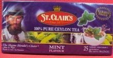 """Черный чай """"Мята"""",25 пак"""