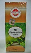 """Зелёный чай """"Вкус мяты"""" 25 пакетиков по 2 г."""