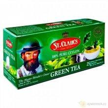 100% Зеленый чай,25 пак