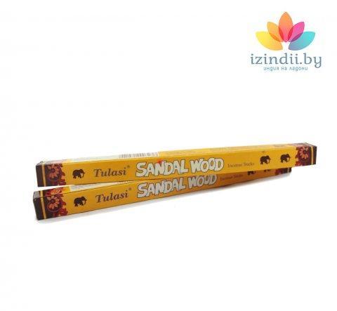 Благовония Сандал, Tulasi, 4-х гранник