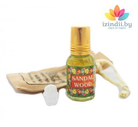 Духи масляные Сандал, Индийский секрет, 5 мл