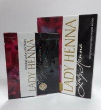 Краска для волос Lady Henna чёрный 10г.