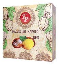 Масло Ши (карите) косметическое твердое масло-баттер, 100гр