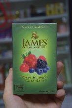 Чай зелёный c ягодами James 100 г