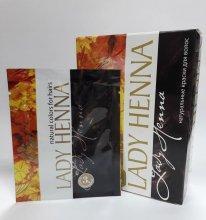 Краска для волос Lady Henna тёмно-коричневый 10г.
