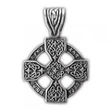 """Амулет защитный """"Рунический крест"""", материал - олово"""