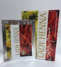 Краска для волос Lady Henna махагони 10г.