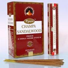 Благовония  Ppure Sandal wood аромапалочки  15г