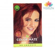 9.3 | Вишнёвая-бургунди | 75 г | Краска для волос | Color Mate