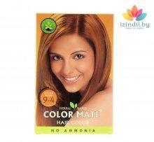 9.4 | Золотисто-коричневая | 75 г | Краска для волос | Color Mate