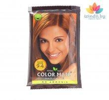 9.4 | Золотисто-коричневая | 15 г | Краска для волос | Color Mate