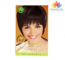 9.7 | Cветло-коричневая | 75 г | Краска для волос | Color Mate