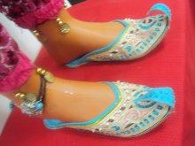 ethnic shoes aladin natural leather size 39 f