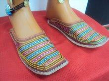 ethnic shoes hand made natural leather size 37