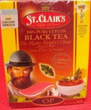 Чай черный,крупный лист,крепкий,St Clairs, OP,100 gr