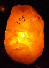 Гималайский кристаллический солевой светильник №13