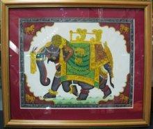 """Картина """"Слон великолепный"""" ручная работа"""