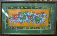 """Картина """"Слоны"""" ручная работа"""