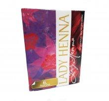 Краска для волос Lady Henna бургунд 60г.
