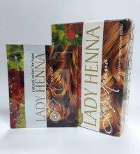 Краска для волос Lady Henna светло-коричневый 10г.