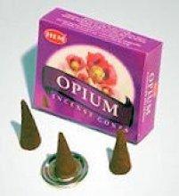 Благовония конусы HEM Opium (Опиум)