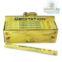 Благовония Tulasi  Meditation (Медитация), четырехгранник, 8 палочек