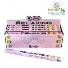 Благовония Tulasi Relaxing (Расслабляющий), четырехгранник, 8 палочек