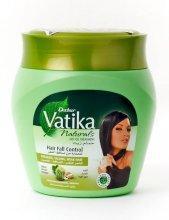 Маска против выпадения волос Vatika с маслами кактуса, чеснока и кокоса 500мл,  Cactus Garlic Coconut