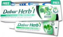 Зубная Паста Dabur  Herb'l Базилик (150 гр) с зубной щеткой